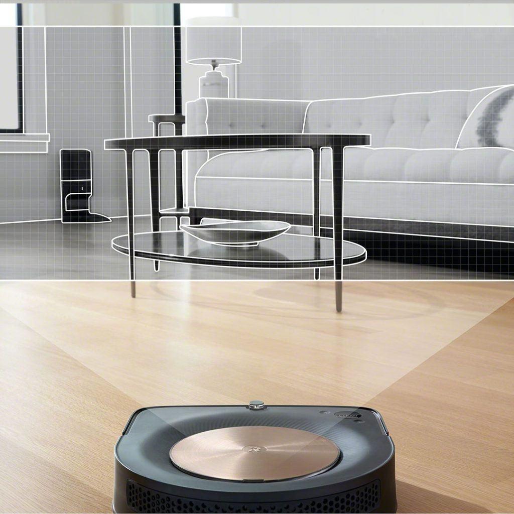 Robot hút bụi lau nhà iRobot Roomba S9 - Homebot.vn